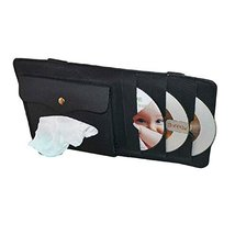 PANDA SUPERSTORE Multi-Functions CD Visor Tissue CD Holder/Wallet/Organizer for