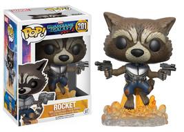 Guardians of the Galaxy Vol. 2 Rocket Raccoon Vinyl POP! Figure Toy #201... - $12.55