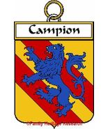 CAMPION French Coat of Arms Print CAMPION Famil... - $25.00