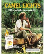 1980's  Camel & Camel Lights 3 Full Pages Color Print Ads -  Very Good - $7.99