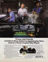 Genesis 1986 Print Ad SONY Compact Disc Player ~ Genesis Records - $7.99