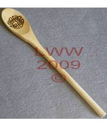 Celtic Knot Wood-burnt Incense Spoon Pagan Wiccan NEW - $5.99