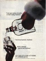 1989 ICY Vodka of Iceland Imported Spirits Sales Art Photo Print Ad - $7.69