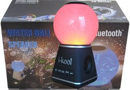 I-kool 4 Changing Colors Water Dancing Speaker Bluetooth 4.0 Wireless (G... - $32.82 CAD