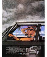 Blaupunkt Car Stereo System Vintage 1984 Print Ad - $5.99