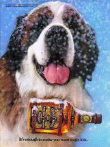 Chivas Regal 1983 Vintage Print Ad - It's Enough To make You Want To Get... - $3.99