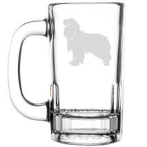 12oz Beer Mug Stein Glass Cavalier King Charles Spaniel Dog - $12.86