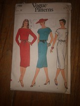 UNCUT Vintage Vogue Sewing Pattern Misses Sz 8 #7562 - $19.77