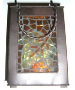 """Metal """"Luminaria"""" with Maple Leaf insert-New! - $15.00"""
