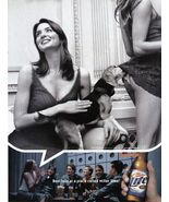 2003 Miller Beer Ad  Original Magazine Clipping ~ Dog Is Sniffing Her Be... - $6.49