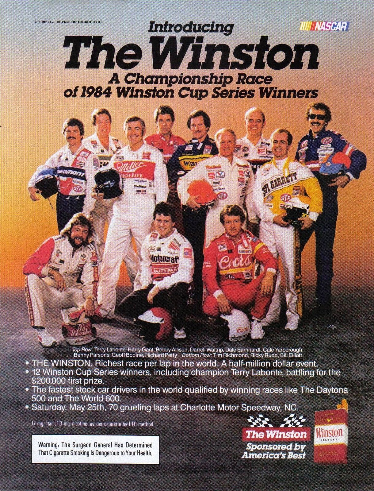 an explanation of the winston cup series and the nascar race The monster energy nascar cup series is the  the grand national series became known as the winston cup series  10-race format used in the cup series,.