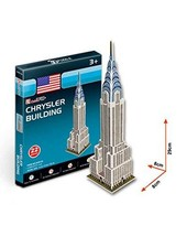 PANDA SUPERSTORE The Chrysler Building Three-Dimensional Building of Manual Asse