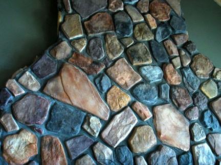 #OAF-05 Fieldstone Molds (8) Makes Custom Concrete Stone Rock For Pennies Each