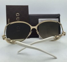 New GUCCI Sunglasses GG 4250/S TUVJ6 60-17 Bronze Havana Brown w/ Brown Gradient