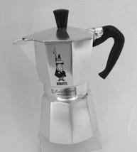 ITALY Bialetti 6 Cup Moka Express Espresso Aluminum Stovetop Coffee Maker - $17.27