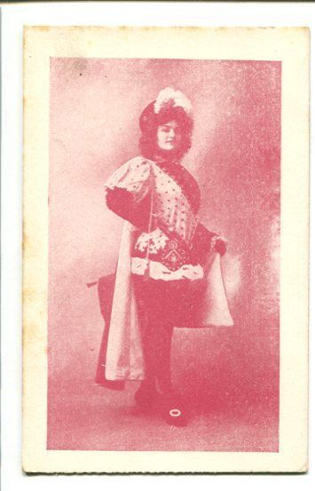 Primary image for PIN-UP GIRL--WILD CLOTHES--POST CARD-1910! G