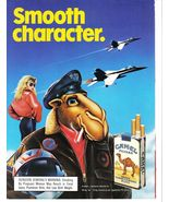 Vintage 1988 Camel Cigarette Smooth Character Print Ad Near Mint - $4.99