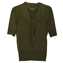 Classiques Entier Olive Green 2XS Silk Blend Sweater Women's PXS PP XS - $16.14