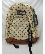 Trans by Jansport Backpack Super Cool Distressed Stars New - $15.25