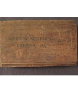Vintage Reiff & Nestor Co. Lykens PA Wood Box With Contents - $21.79
