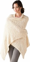 Women's One Size Soft Knit Nylon Giving Shawl Wrap in Gift Box - $107.42+