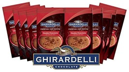 Ghirardelli Chocolate Premium Hot Cocoa, Double Chocolate, 0.85-Ounce Packets Pa - $14.15