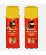 2 Great Stuff GAPS & CRACKS 12oz Ivory Polyurethane Foam Insulating Seal... - $19.99