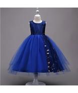 Flower Girl Dress Wedding Bridesmaid Pageant Formal Prom Gown Organza M-DB - $35.50