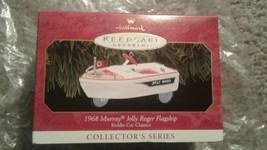 1968 Murray Boat Jolly Roger Hallmark Ornament Kiddie Car Classics #6 - $0.98