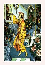 Aladdin Secures The Lamp by Walter Crane - Art Print - $19.99+