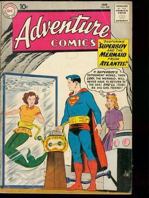 ADVENTURE COMICS #280 '61 AQUAMAN LORI LEMARIS SUPERBOY VG