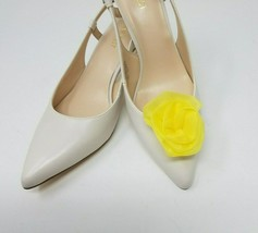 Yellow Flowers Clip for Shoes (2 piece), Flower Shoe Clips, Prom Shoes - $12.99
