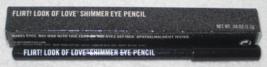Flirt! Look of Love Shimmer Eye Pencil in Black Sequins - NIB - $13.95