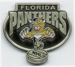 NHL Licensed Pin Florida Panthers Hockey Pewter Pin - $5.00
