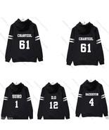 Kpop EXO Zipper Hoodie Unisex Chanyeol Coat Sweatershirt Baekhyun Chen X... - $15.99