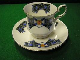 Beautiful RARE  Cup & Saucer Prince Edward ELIZABETHAN China Noca Scotia... - $15.65