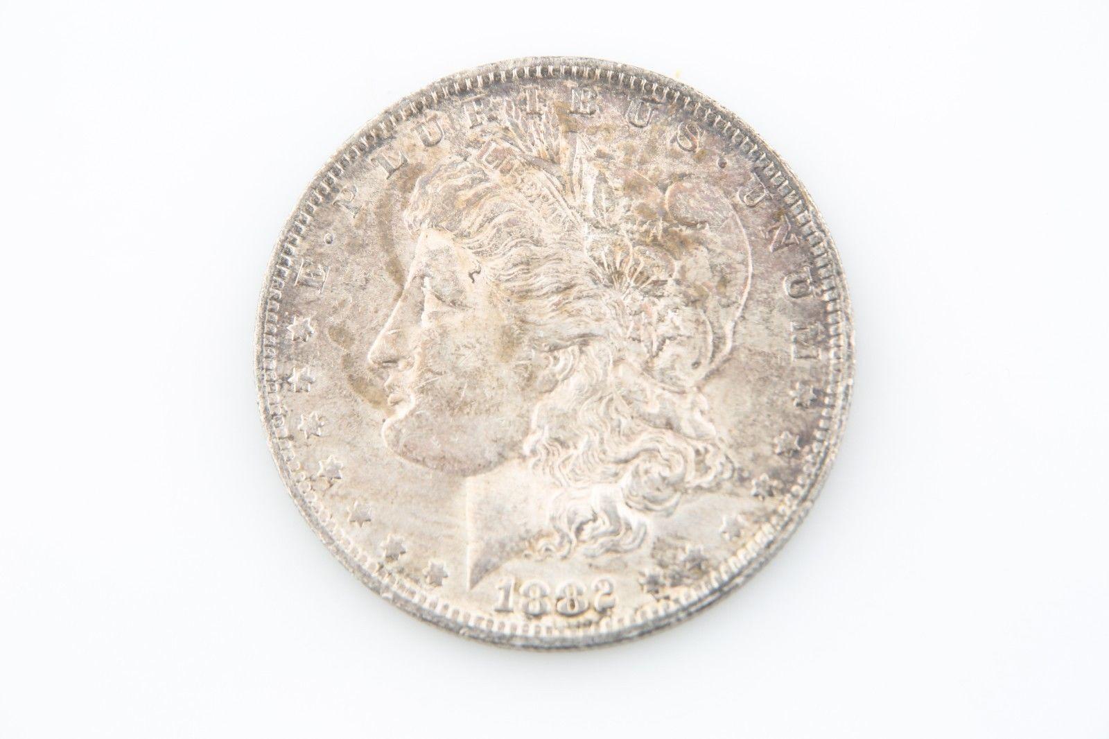 1882-O/S $1 Strong Morgan Silver Dollar BU Louisiana Brilliant Uncirculated 7138 - $296.01