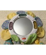 Fisher Price NATURE BEARRIES BEARRY Musical Mirror - RARE, Crib Toy, C0109 - $22.80
