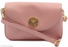 NWT TORY BURCH Robinson Small Crossbody Clutch Bag, Rose Sachet - $169.15