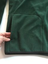 IZOD Full-Zip Polar Fleece Jacket Big & Tall Hunter Green w/ Black Trim 2XLT $70 image 8