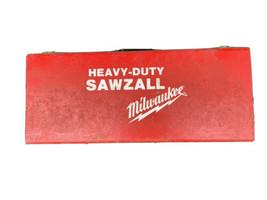 Milwaukee 6508 4 Amp Corded Electric Heavy Duty Sawzall w/ Metal Case - $68.31