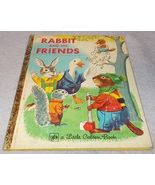 Little Golden Book Rabbit and His Friends #169 Richard Scarry 1963 - $5.95