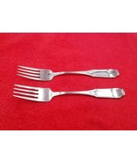 2 Salad Forks ~ Panel Antique by Supreme Cutlery Towle Stainless Flatwar... - $14.84