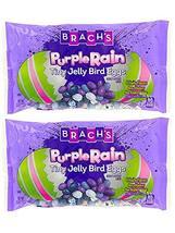Brach's Purple Rain Tiny Jelly Bird Eggs! Jelly Beans 13 Oz Pack of 2! 4 Fruity  image 3
