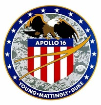 Nasa Apollo 16 Sticker Armed Forces Decal M403 - $1.45+