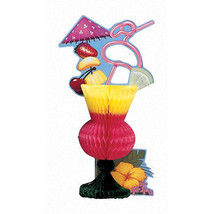 "8 1/2"" x 13"" x 4"" Honeycomb Centerpiece Tropical Drink/Case of 6 - £23.06 GBP"