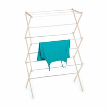 "Folding Foldable Collapsible Clothes Drying Laundry Rack 42"" x 29"" x 14"" - £20.47 GBP"