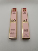 Too Faced Rich & Dazzling Lip Gloss - Hidden Talents. Full Size AUTHENTIC NIB - $17.59