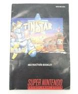 Tin Star Instruction Booklet Manual Only Colored Super Nintendo SNES - $16.44
