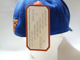 New University Of Florida UF Zephyr Fitted Cap Hat 7 1/2 Z brand College  image 7